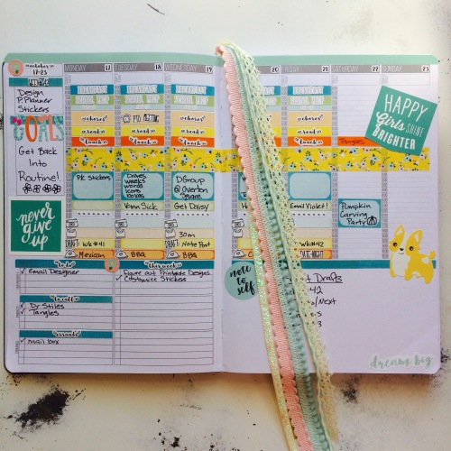 2016 Planner Layout, Week# 42