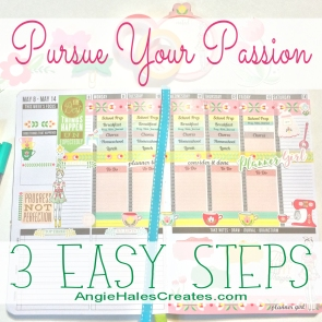 Pursue Your Passion with these FREE Printables
