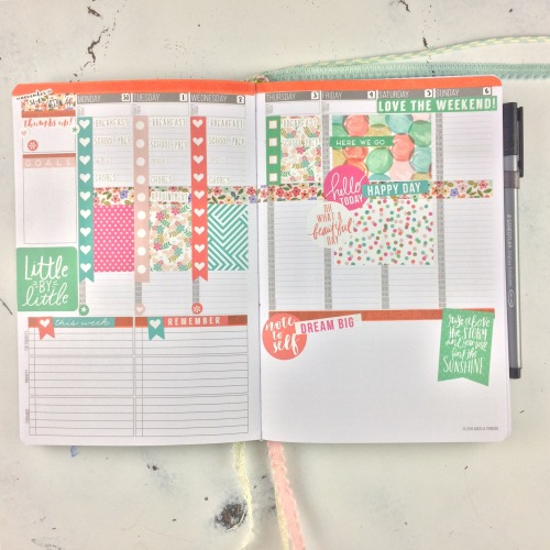 2016 Planner Layout, Week# 44
